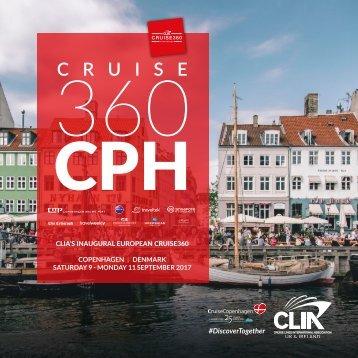 CLIA Cruise360 Copenhagen Digital Programme
