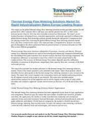 Thermal Energy Flow Metering Solutions Market