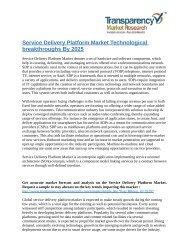 Service Delivery Platform Market