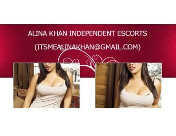 Mumbai Escorts Mail (Itsmealinakhan@gmail.com) Mumbai Top Model Escorts