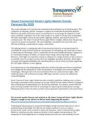 Smart Connected Street Lights Market