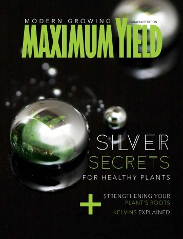 Maximum Yield Modern Growing | Canadian Edition | January/February 2017
