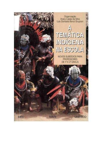 tematica indigena na sala de  aula