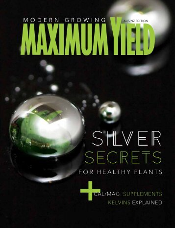 Maximum Yield Modern Growing | AUS/NZ Edition | January/February 2017