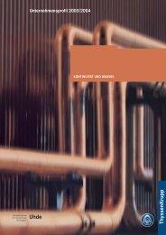 Unternehmensprofil 2003/2004 (3.9 MB) - Uhde GmbH