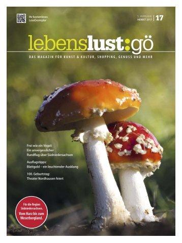 Lebenslust Goettingen, Herbst 2017