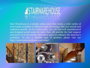 Buy Stair Parts Online