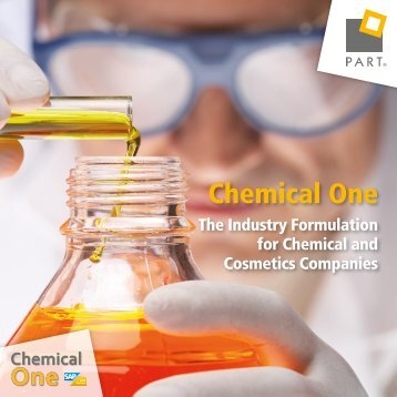Chemical One: The Industry Formulation for Chemical and Cosmetic Companies