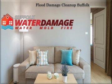 Flood Damage Cleanup Suffolk