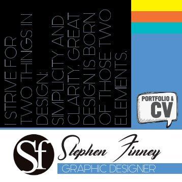 Stephen Finney Portfolio & CV (Old)