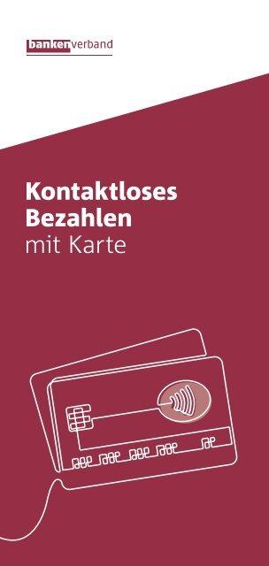 Kontaktloses Bezahlen mit Karte