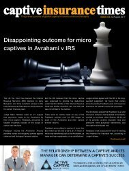 Captive Insurance Times Issue 130
