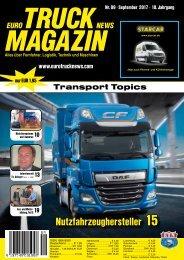 Euro Truck News Digital Nr. 09/2017