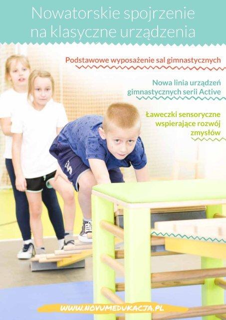 Sprzęt gimnastyczny Novum