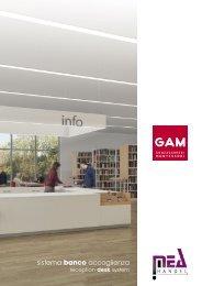 GAM Katalog Modular Empfang