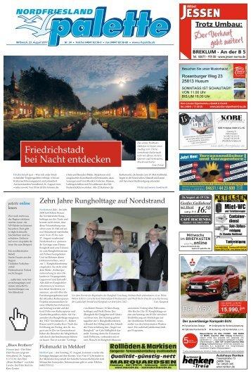 Nordfriesland Palette 34 2017