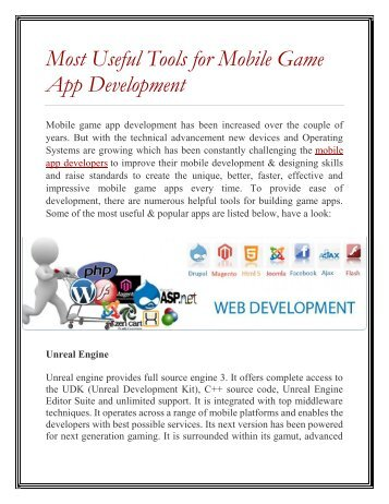 Rules For Developing Addictive Mobile Games
