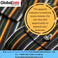 Get Affordable Apparel Buyers Mailing Lists