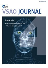 VSAO JOURNAL Nr. 4 - August 2017