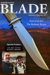 Australian Blade Ed 2 Sep 2017