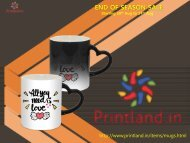 Buy Personalized and Customized Mugs with Logo Printed Online in India – PrintLand.in