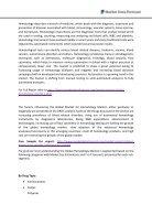 Global Hematology Market - Page 2