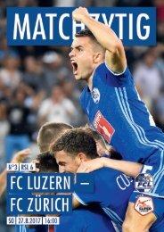 FC LUZERN MATCHZYTIG N°3 1718 (RSL 6)
