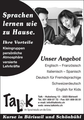 Sprachstudio Talk