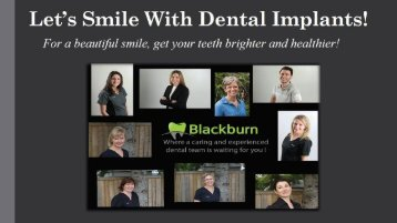 Let's Smile With Dental Implants!