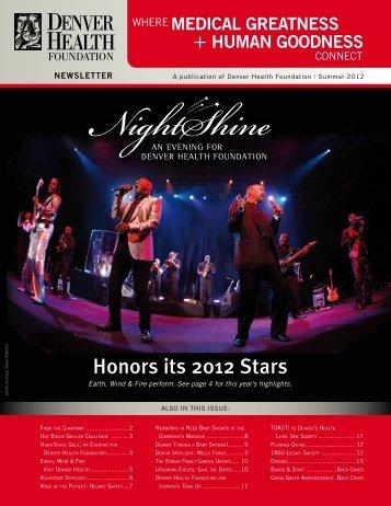 Summer 2012 Newsletter - Denver Health Foundation > Home