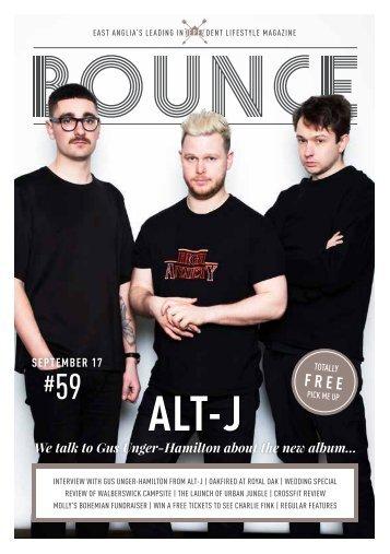 Bounce Magazine September 2017