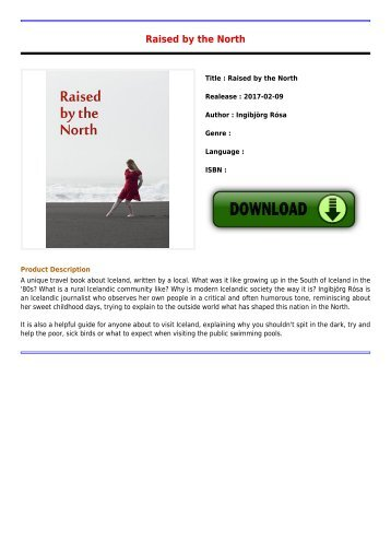Download E-Book Raised by the North Full Collection