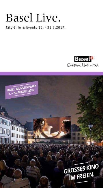 Basel Live 14 2017 Broschüre