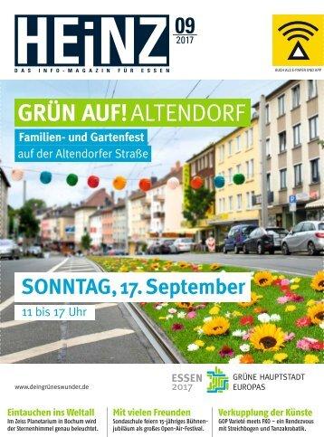 HEINZ Magazin Essen 09-2017