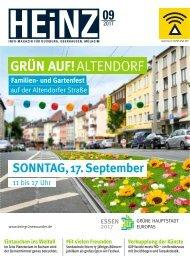 HEINZ Magazin Oberhausen 09-2017