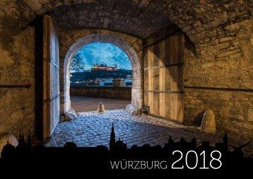 Wandkalender Würzburg 2018