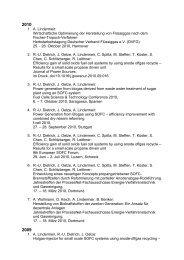 1. A. Lindermeir: Wirtschaftliche Optimierung der Herstellung von ...