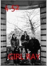 4.52am Issue: 048 24th August 2017 - The GIRL RAY Issue