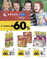 Folleto EROSKI city del 24 de Agosto al 12 de Septiembre 2017