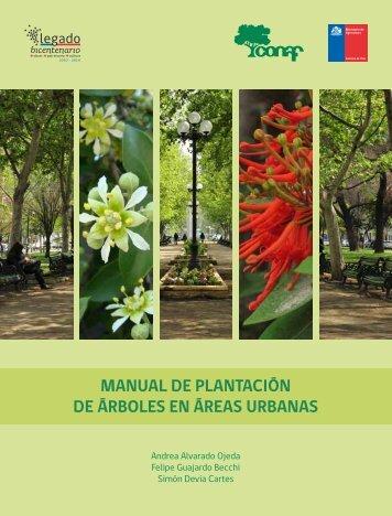Manual de Plantacion de Arboles en Areas Urbanas