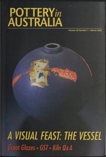 Pottery In Australia No 39 No 1 March 2000