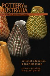 Pottery In Australia Vol 41 No 2 Winter 2002