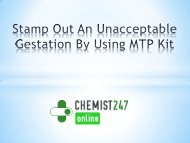 Stamp Out An Unacceptable Gestation By Using MTP Kit