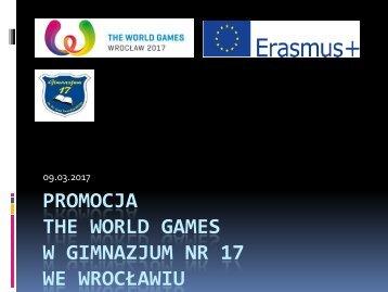 Promocja the WorldGames w G-17