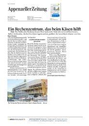 Aufrichtefest Rechenzentrum Ostschweiz