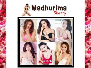 MADHURIMA SHETTY CHENNAI DATING SERVICES