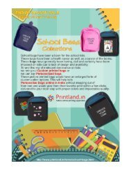 Custom Printed School Bags - Buy Personalized or Customized School Bags For Girls and Boys with Photo and Text Printed in Bulk at Low Price Online in India