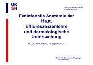 primäreffloreszenzen - UKSH Universitätsklinikum Schleswig-Holstein