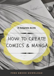 How To Create Comics & Manga Free Ebook