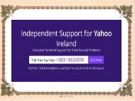 What are the steps to add a signature to Yahoo?
